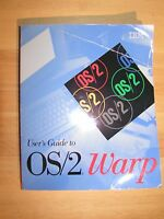 OS/2 Warp v 3.0 Getting Started Guide Manual Very Good Condition Vintage Rare