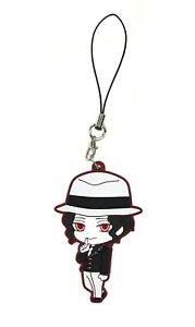 Demon Slayer Kimetsu no Yaiba Rubber Strap Keychain Charm ~ Giyu Tomioka @36125