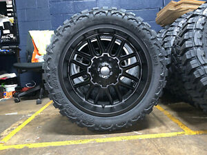 Dodge Ram 1500 Wheels And Tires Packages >> Details About 22x10 Mayhem Cogent 33 Mt Wheels Rims Tires Package 6x5 5 2019 Dodge Ram 1500