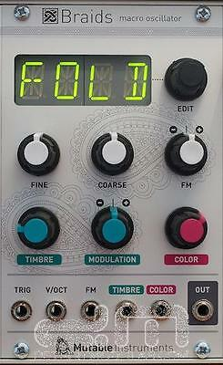 Mutable Instruments Braids : Eurorack Module : NEW : [DETROIT MODULAR]