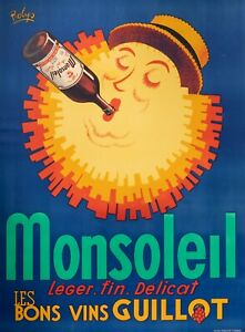 Original-Vintage-Poster-Robys-Monsoleil-The-Fine-Guillot-Wine-1940
