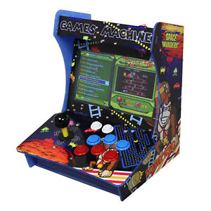 Arcade Machine Table Bartop Retro Classic Gaming Cabinet Pandora 5S 3303 Games