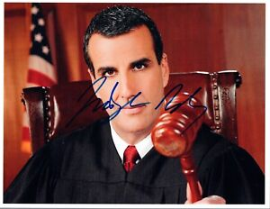 Judge-Alex-Ferrer-Signed-Autographed-8x10-Photo-COA-VD