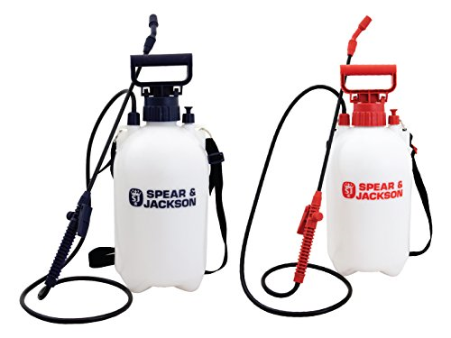 Spear and Jackson White and Red Sprayer Twin Pack to Avoid mixing Water and