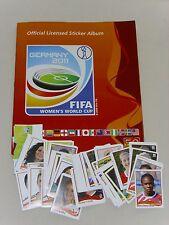 Panini Frauen Fussball WM 2011 Sticker NEU aussuchen oder REWE Stadion Sticker