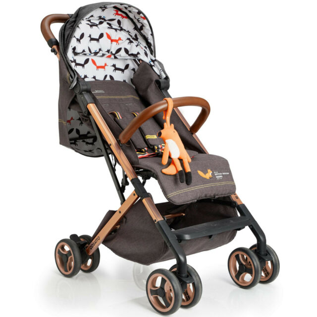 Brand new Cosatto woosh xl stroller Mister fox with raincover from birth to 25kg