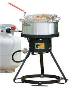 bass pro shops propane fish fryer cooker ebay