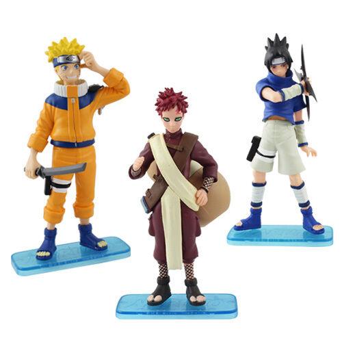Naruto Naruto/Gaara/Sasuke 13cm PVC Figure Set of 3pcs