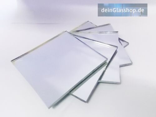 ➡Spiegelfliesen 3mm  Dekospiegel Kacheln  Spiegel Tischdeko  Untersetzer ⬅