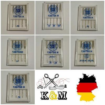 Herstellung Deutschland RUPPEL Maschinen Nadeln 3×70 2×80  TOP PREIS 5St