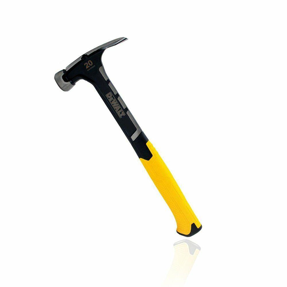 DeWALT DWHT51054 5.5-Inch 20-Ounce Smooth One-Piece Steel Rip Claw Hammer