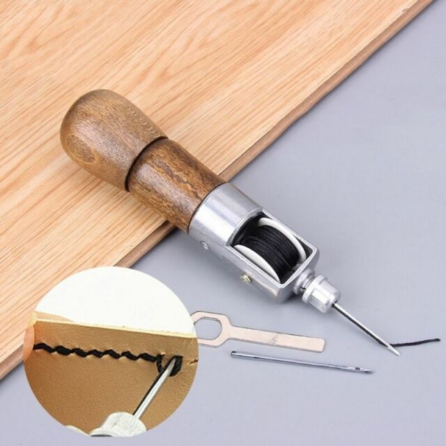 Sewing Awl Needle Tool Kit Stiching Speedy Stitcher for Leather Sail & Canvas