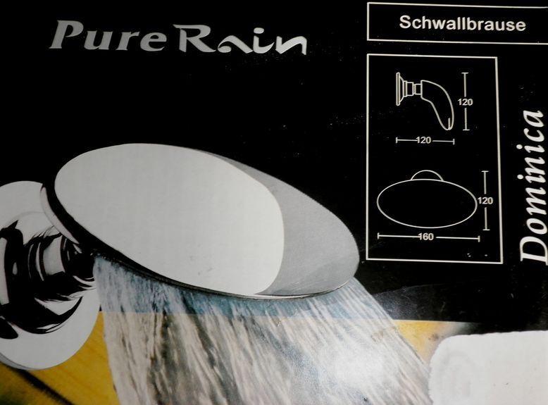 Dusche Schwallbrause, Kopfbrause,  Wandmontage Messing chrom | Komfort  | Große Auswahl  | Ausgezeichnete Qualität  | Angenehmes Gefühl