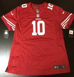 San Francisco 49ers Throwback Jimmy Garapolo Jersey Medium