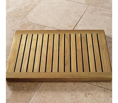 Grade A Teak Wood 24x18 Floor Mat Door Shower Pool Bath Room Spa Outdoor Garden Ebay