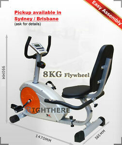 Magnetic-Recumbent-Exercise-Bike-Home-FITNESS-Heavy-Duty-Seated-Recovery-GYM-LCD