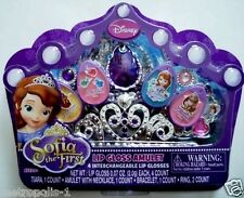 DISNEY,SOFIA THE FIRST,LIP GLOSS AMULET,MAKE-UP & COSMETIC JEWELRY SET,KIDS 5+,