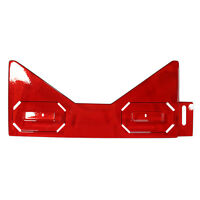 Stern Transparent Red Smooth Bottom Arch