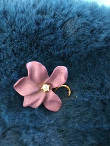 Joan Rivers Violet Pin