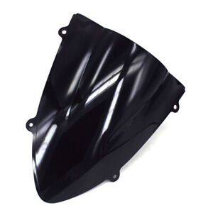 ABS Black Windscreen Windshield Screen For Ninja ZX250R 2008-2012 Motorcycle