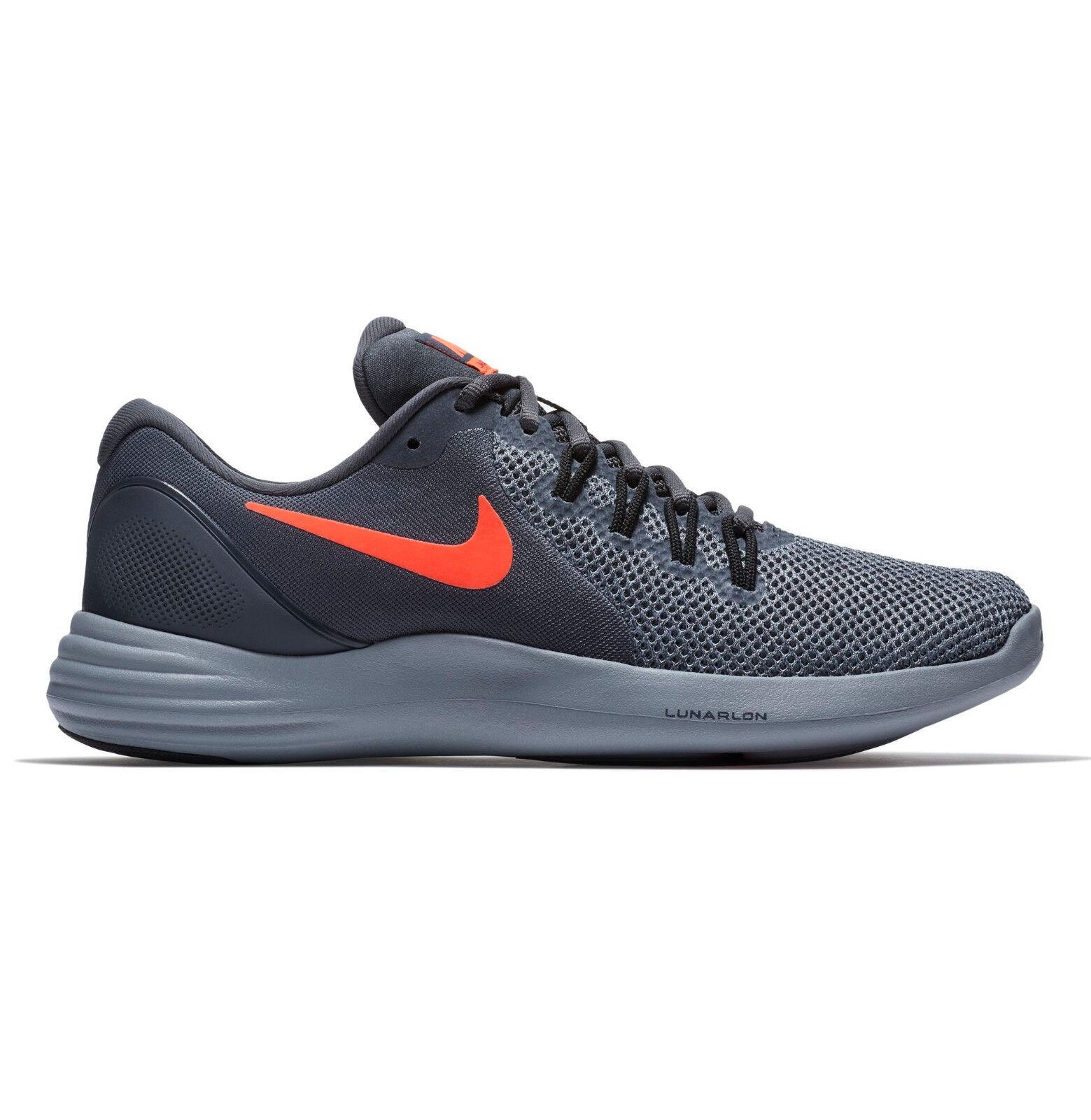 Seasonal price cuts, discount benefits NIB Nike Lunar Apparent Sneaker Shoe Anthracite Gray 908987-006 Mens Sz 9.5-13