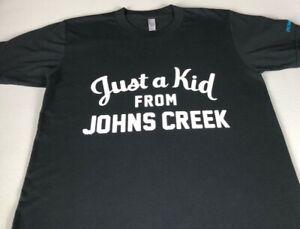 Just A Kid From Johns Creek T-Shirt Adult XS/S Georgia High School Gladiators