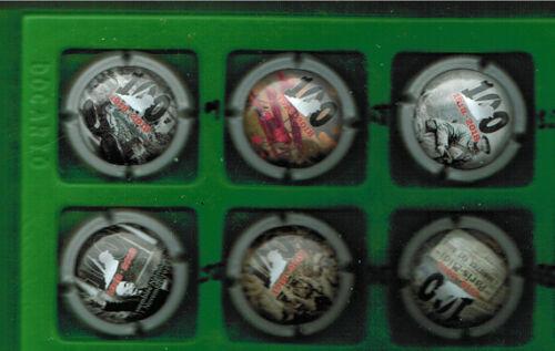 10 X DE SERIES DE CAPSULES CHAMPAGNE