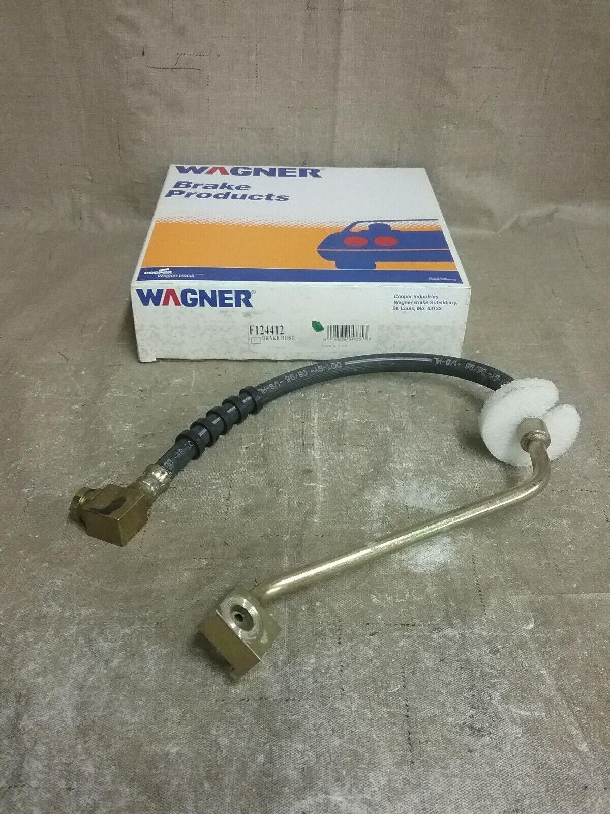 Brake Hydraulic Hose Rear Wagner BH140342