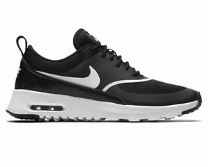 Women-039-s-Nike-Air-Max-Thea-599409-028-Ladies-Trainers-Black-Gym-Running-Shoes