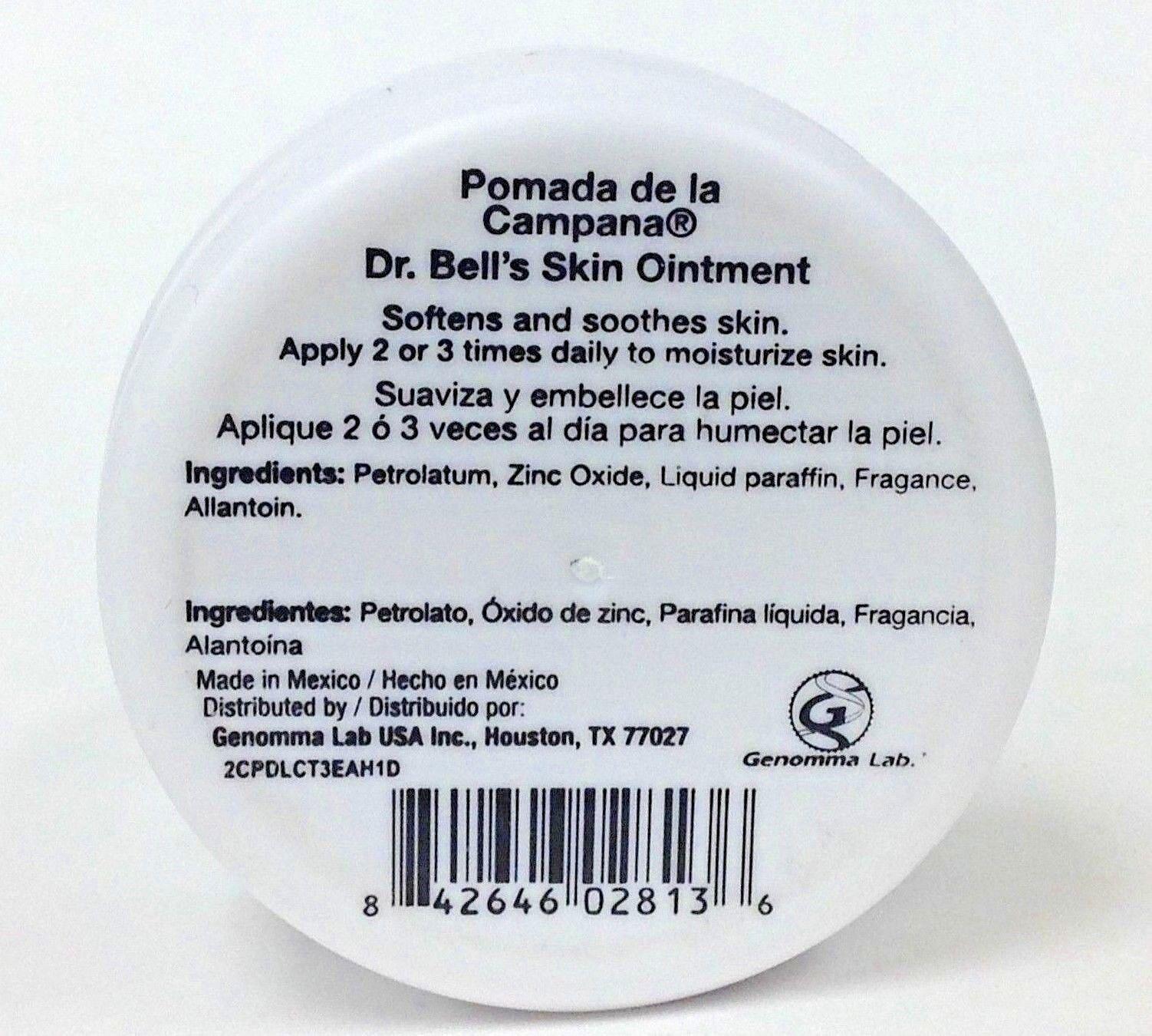 28 Dr Bell Pomada De La Campana Skin Ointment 12 Oz Each Jl 5030 Ebay