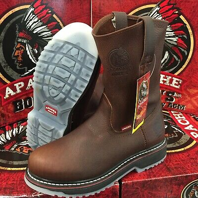 MEN'S WORK BOOTS APACHE GENUINE LEATHER
