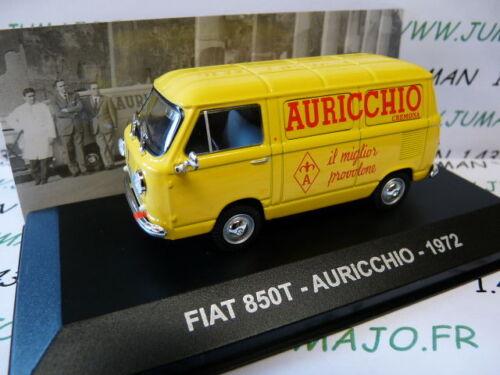 PIT32D 1//43 IXO Altaya d veicoli/'d/'epoca ITALIA FIAT 850 T Auricchio 1972