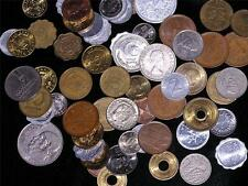 COINS Giant Mixed Lot of 100 Many Countries Circulated FOREIGN MONEY