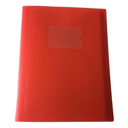 Flexicover A4 Display Book Presentation Pockets Folder Business Portfolios