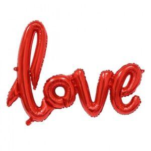 "36 X 54 Cm 100% Garantie Party- & Eventdekoration 1 Stück Aufblasbarer Folienballon Luftballon Ballon Deko ""love"" Ca"