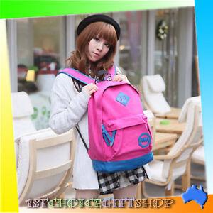 CLEARANCE MCYS&JPN Fashion Men Girl Unisex Backpack Schoolbag Shoulder Bag