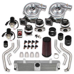 Corvette-C6-2005-2007-LS2-Holley-STS-Twin-Turbo-System-w-Tuner-amp-Fuel-Injectors