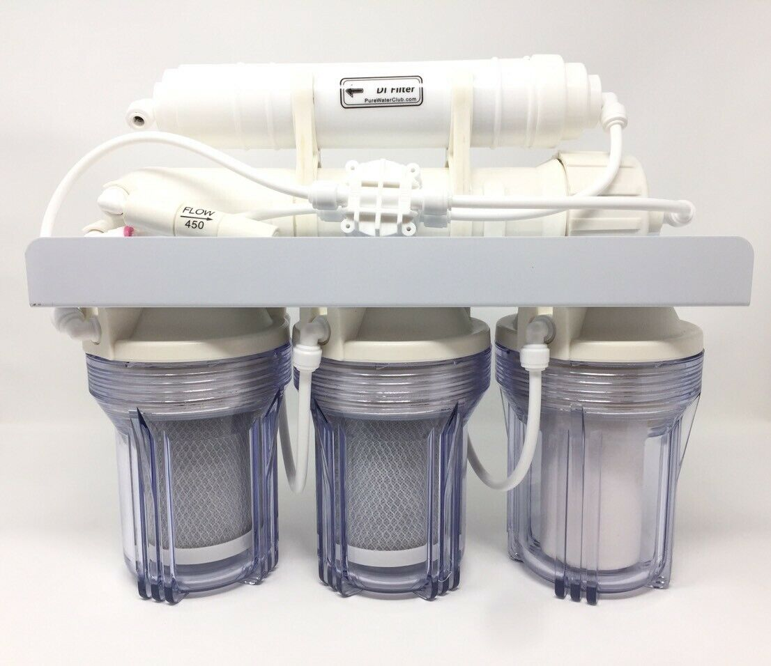 5  mini  50 GPD 0 ppm Reverse Osmosis  RO DI Water Filter system