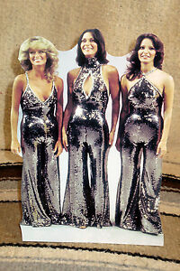 """Offer Up Los Angeles >> Charlies Angels 1970's TV Series Tabletop Display Standee 10"""" Tall 