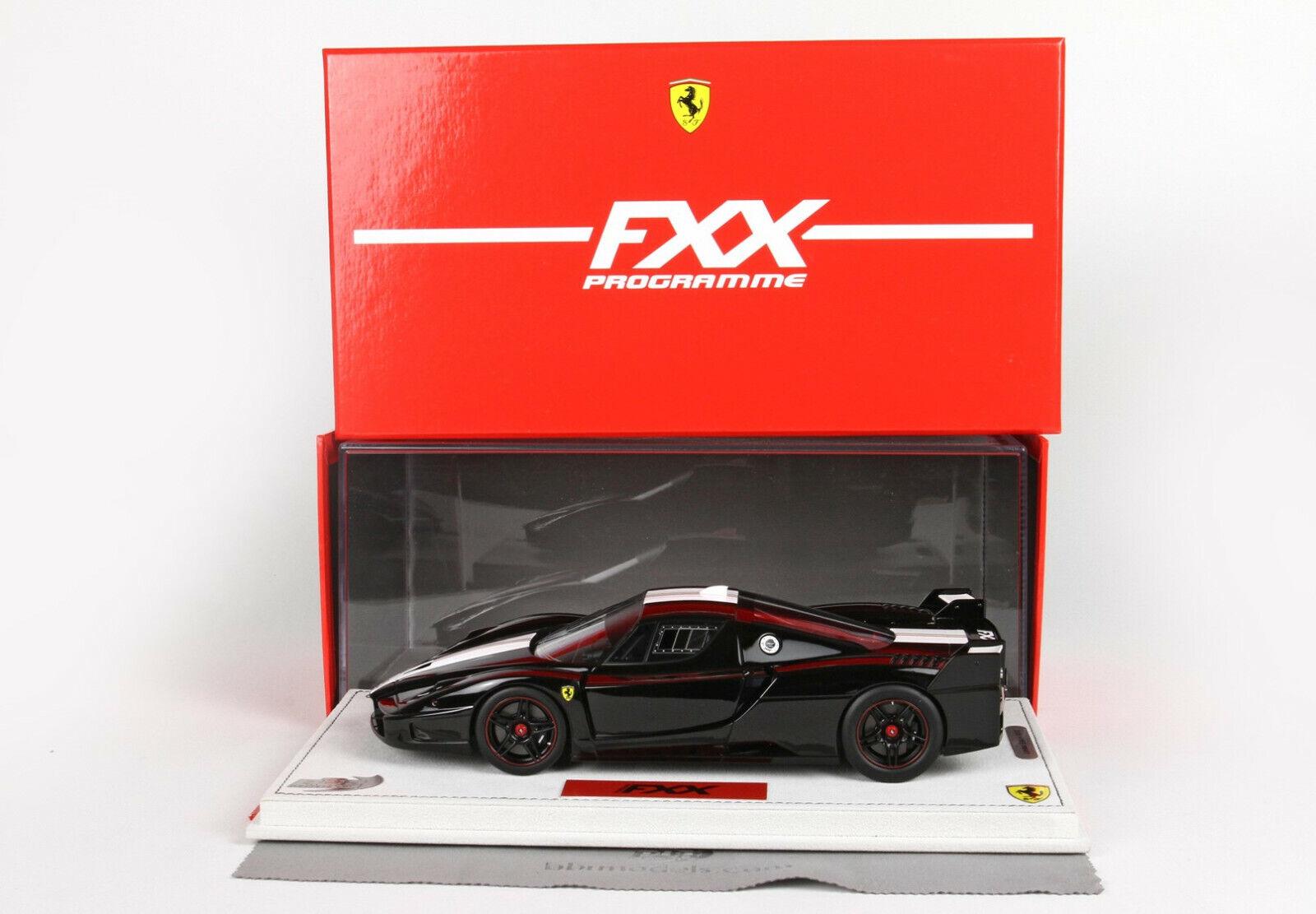 Ferrari FXX negro DS DS DS  1 18 lim.ed.15 pcs Display FXX03B BBR MODELS  tienda de venta en línea