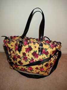 Image Is Loading Betsey Johnson Betseyville Le Toes Baby Diaper Bag
