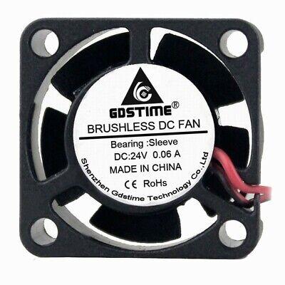 2PCS mini 25mm 25x25x7mm 7MM 5V Brushless Cooling Fan Cooler 0.2A 2Pin Ph1.5