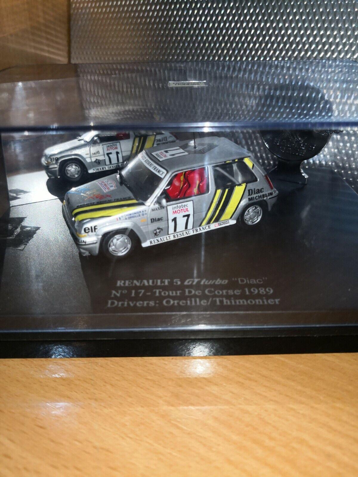 Renault 5 gt turbo Diac uh 1 43