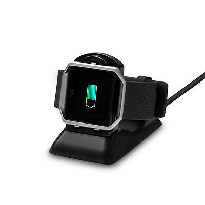 USB Charging Charger Dock Cradle for Fitbit Blaze Watch Vs. Original Charger