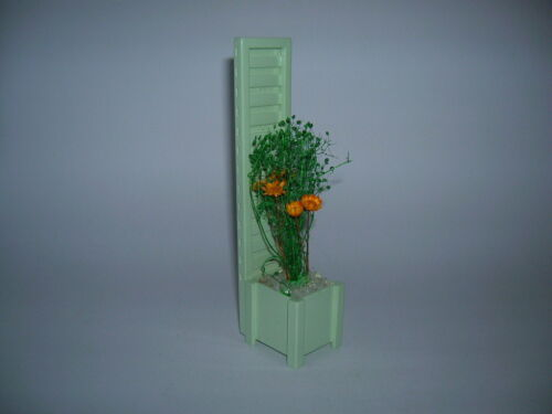Blumenkasten bepflanzt  Flower Frame Puppenstube Dollhouse 1:12 Art DF1190