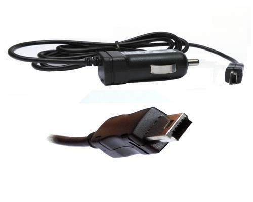 TMC Autoladekabel für Becker Traffic Assist Z213 Z215 Z217 Miniusb KFZ Ladekabel
