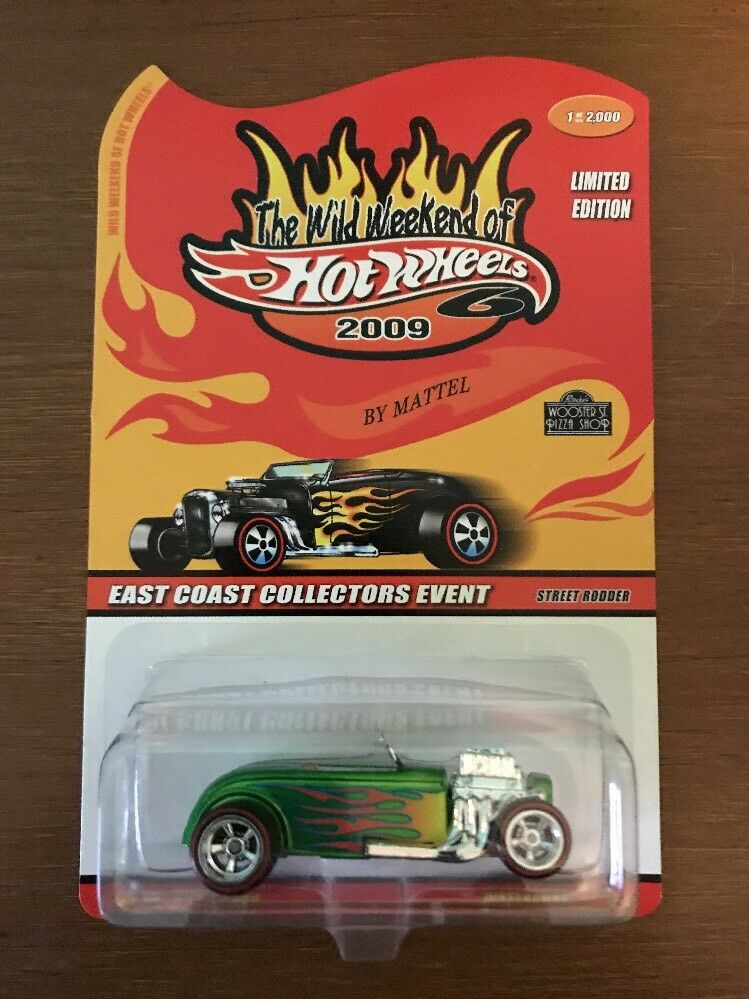 Wild Weekend of Hot Wheels '09 CHASE Classics STREET RODDER 1999 of 2000 Made.