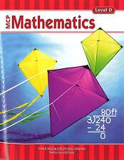 MCP Mathematics - Level D Student Workbook - 9780765260628