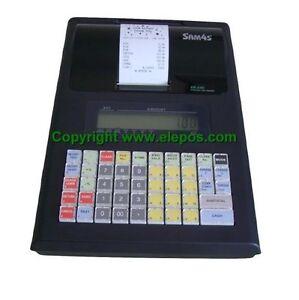 Sam4s Er230 Er 230 Portable Cash Register Till Ebay