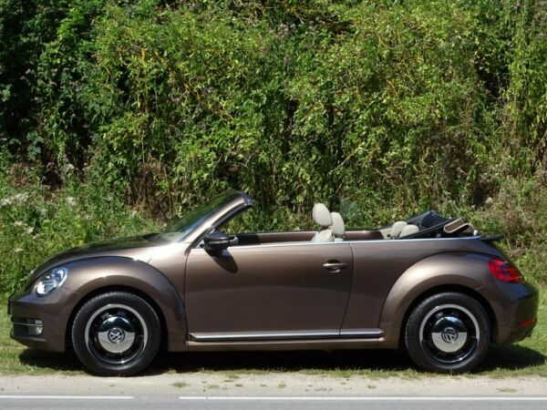 VW The Beetle 1,4 TSi 160 Design Cabriolet DSG - billede 2